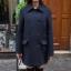 Dark Blue-เสื้อโค้ทกันหนาว สไตล์เกาหลี รุ่นกระดุม 2 แถว thumbnail 3