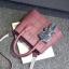 กระเป๋าสะพายข้างผู้หญิง Girl the grid black แถมหมี!! thumbnail 20