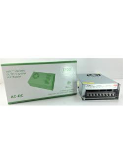 หม้อแปลง LED 12V 30A (อแดปเตอร์) LVC