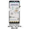 p-one ฟิล์มกระจกเต็มจอ Samsung Galaxy A8 Plus / A7 2018 สีดำ