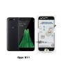 P-one ฟิล์มกระจก Oppo R11 เต็มจอ สีดำ