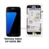 P-one ฟิล์มกระจกเต็มจอ Samsung Galaxy S7 / G930 สีดำ
