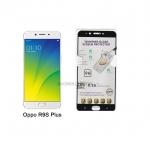 P-one ฟิล์มกระจกเต็มจอ Oppo R9S Plus สีดำ