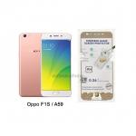 P-one ฟิล์มกระจกเต็มจอ Oppo R9S สีทอง
