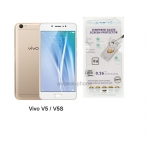 P-one ฟิล์มกระจก Vivo V5/V5S เต็มจอสีขาว