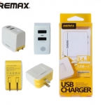 Remax Dual USB Charger 3.4A สีขาว