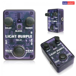 เอฟเฟ็คกีต้าร์ไฟฟ้า SKS Audio Musiwewe Light Purple Delay