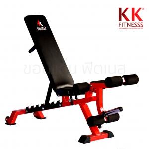 เก้าอี้เล่นดัมเบล : SK Fitness SE-4000 (Commercial Red)