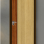 ประตู Leo iDoor Series1 LW-12-White Teak-Brazilian Teak(ภายใน) 3.4*80*200 เมตร