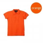 เสื้อโปโลหญิงสีส้ม