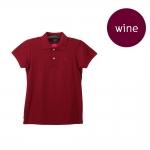 เสื้อโปโลหญิงสีไวน์แดง