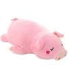 หมอนผ้าห่มแยกชิ้น หมูอ้วน ตัวใหญ่ สีชมพู