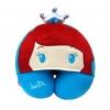 หมอนรองคอมีหมวก ลายเจ้าหญิงซินเดอร์เรลล่า สีฟ้า