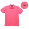 เสื้อโปโลชายสีชมพู