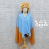หมวกผ้าห่ม คุมะ สีน้ำตาล