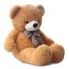 หมอนผ้าห่มแยกชิ้น ตุ๊กตาหมี สีน้ำตาลอ่อน