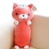 หมอนข้างผ้าห่ม น้องแมว สีชมพู