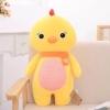 หมอนผ้าห่ม ไก่ ตัวใหญ่ สีเหลือง