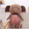 หมอนผ้าห่ม ช้าง ตัวใหญ่ สีน้ำตาล