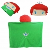 หมวกผ้าห่ม เจ้าหญิงแอเรียล สีเขียว