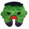 หมอนรองคอมีหมวก ลายฮัค สีเขียว