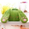 หมอนอิงตุ๊กตา กระต่าย สีเขียว หูยาว มือซุกได้