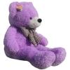 หมอนผ้าห่มแยกชิ้น ตุ๊กตาหมี สีม่วง