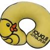 หมอนรองคอลายการ์ตูน ลายเป็ด B Duck สีเหลือง