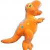 หมอนผ้าห่มแยกชิ้น ไดโนเสาร์ สีส้ม
