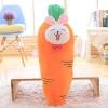 หมอนข้างผ้าห่ม แครอท สีส้ม ขนาดใหญ่
