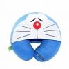 หมอนรองคอมีหมวก ลายDoraemon สีน้ำเงิน