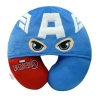 หมอนรองคอมีหมวก กัปตันอเมริกา สีน้ำเงิน