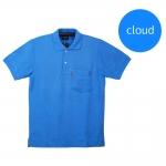 เสื้อโปโลชายสีเมฆ