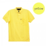 เสื้อโปโลชายสีเหลือง
