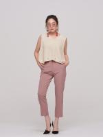 กางเกงแสล็คแฟชั่นสีชมพู