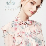 B001 Ariel Rose Princess Dress