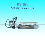 Set UV 16 Watts 1/4 พร้อมบัลลาสต์