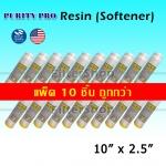 ไส้กรองน้ำ Softener Resin 10 นิ้ว x 2.5 นิ้ว Purity Pro แพ็ค 10 ชิ้น