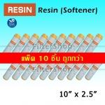 ไส้กรองน้ำ Softener Resin 10 นิ้ว x 2.5 นิ้ว แพ็ค 10 ชิ้น
