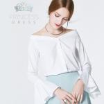 B003 White Iris Princess Dress