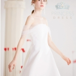 A008 Kirsten white Princess Dress