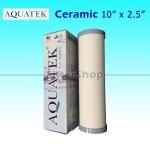 ไส้กรองน้ำ CERAMIC Aquatek 10 นิ้ว x 2.5 นิ้ว 0.3 Micron