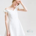 A005 Sansa White Princess Dress