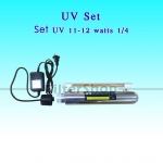 Set UV 12 Watts 1/4 พร้อมบัลลาสต์