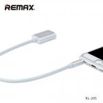 Splitter Adapter Cable remax 3.5 AUX Audio แปลงสาย 1 ออก 2 RL-S20 สีขาว