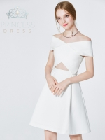 A003 Daisy White Princess Dress