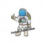 มนุษย์อวกาศน้อย - ตัวรีด (Size M)