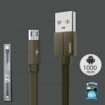 สายชาร์จ Micro USB รุ่น RC-094m,1M (สีเขียว) Kerolla - Remax