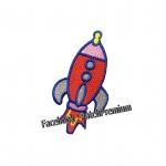 จรวดอวกาศ - ตัวรีด (Size M)