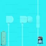 หูฟัง รุ่น RM - 502 สีฟ้า - REMAX